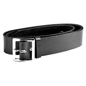 1.75 inch Black leather Belt