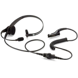 Lightweight Headset with PTT & VOX, UL/TIA 4950