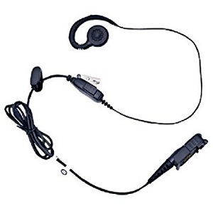 Mag One Earpiece with in-line mic & PTT