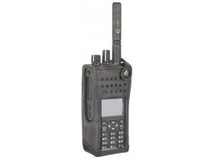 Motorola DP4600/4800 Nylon Carry Case, 3 inches Fixed Belt Loop