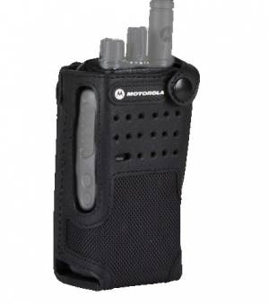 """Nylon Carry Case with 3"""" Fixed Belt Loop for Non-Display Radio"""