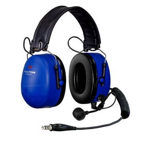 PELTOR ATEX Over-the-Head Heavy Duty Headset with Boom Mic