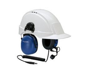 PELTOR ATEX Tactical Heavy Duty Headset, Helmet Attachment & Boom Mic