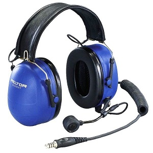 PELTOR ATEX Tactical Over-the-Head Heavy Duty Headset with Boom Mic